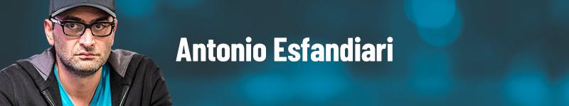 Antonio Esfandiari dinheiro no poker