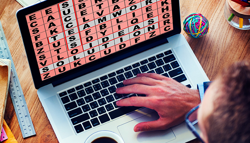 caça palavras online