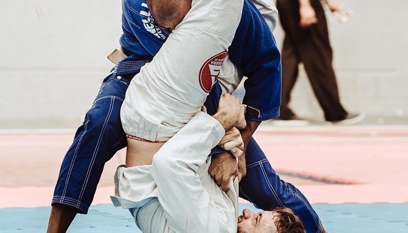 tecnicas jiu jitsu