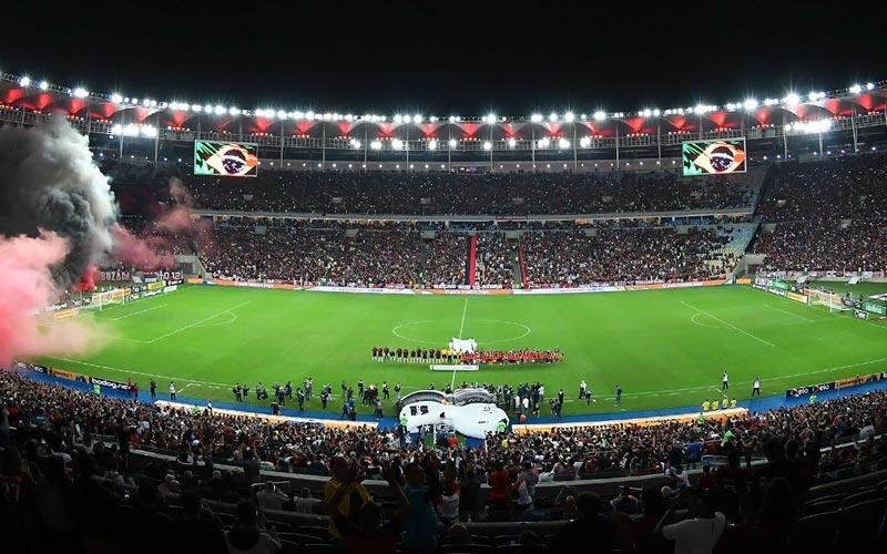 Flamengo jogo Maracana