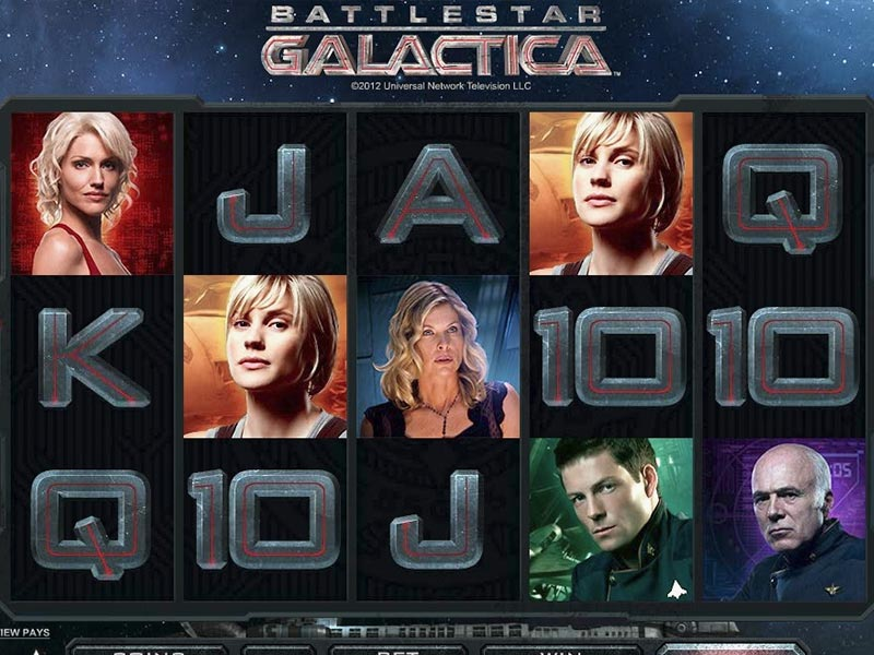 battlestar galactica slot game