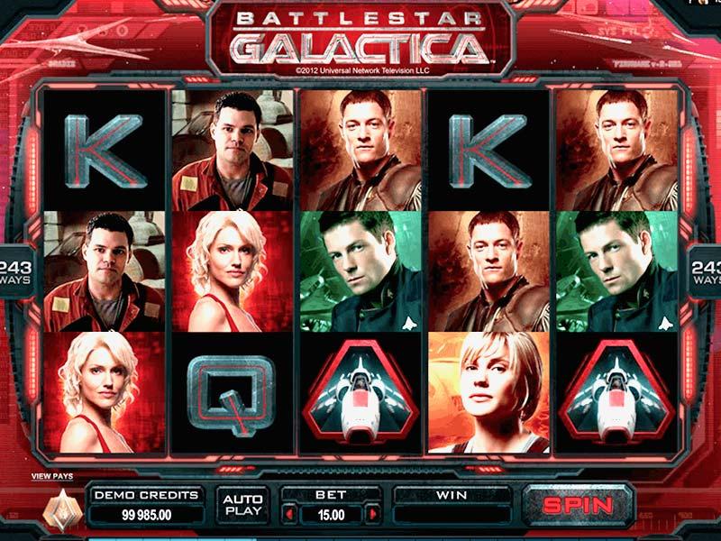 battlestar galactica slots