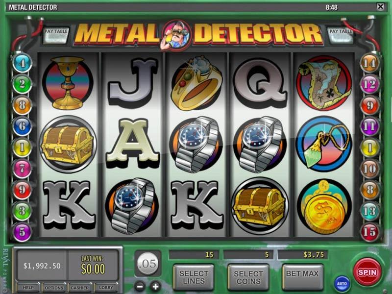 casino detector de metais