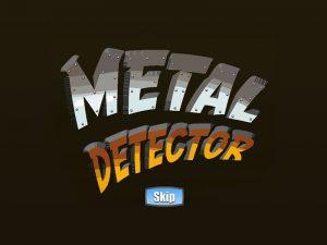 metal detector slot