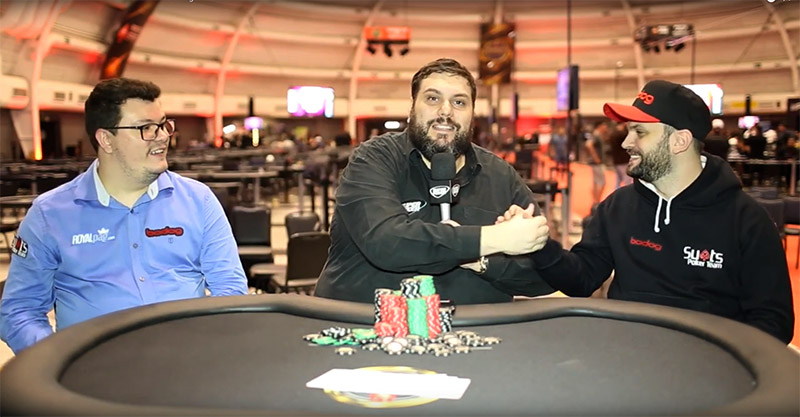 Fim entrevista Embaixadores Bodog Poker