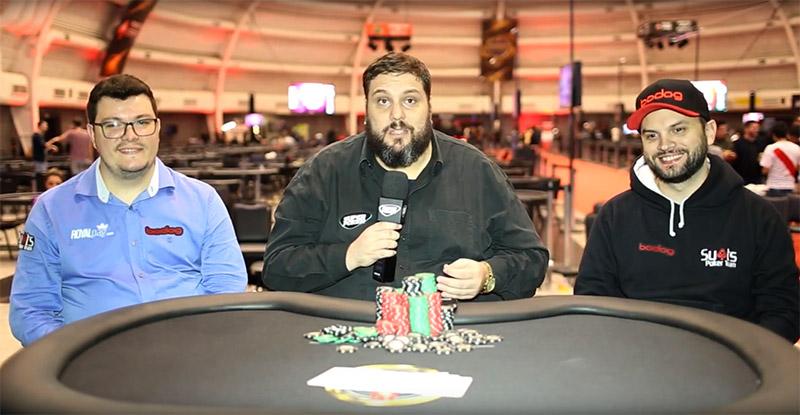 Inicio entrevista Embaixadores Bodog Poker