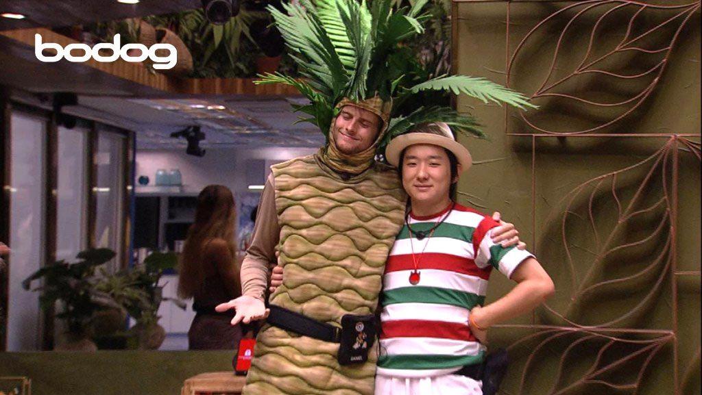 Daniel e Pyong Coqueiro BBB