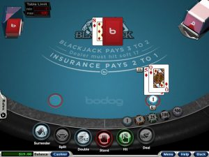 bodog blackjack
