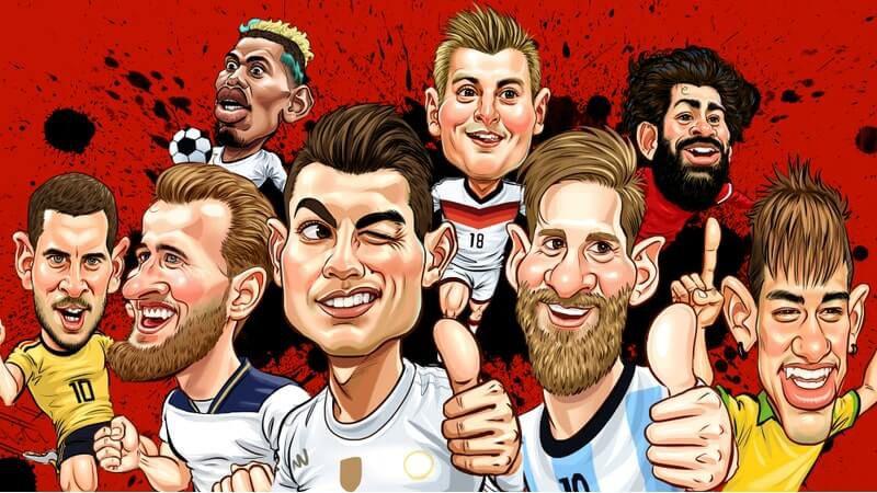 Fifa Ultimate Team caricatura