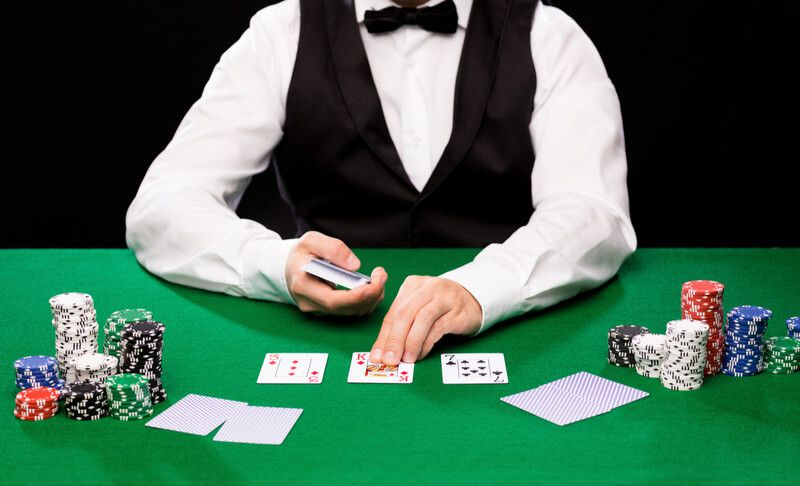 croupier poker