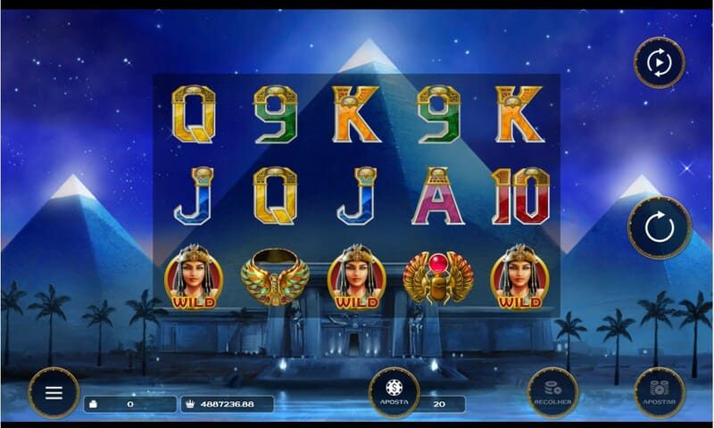 slot simbolos night with cleo