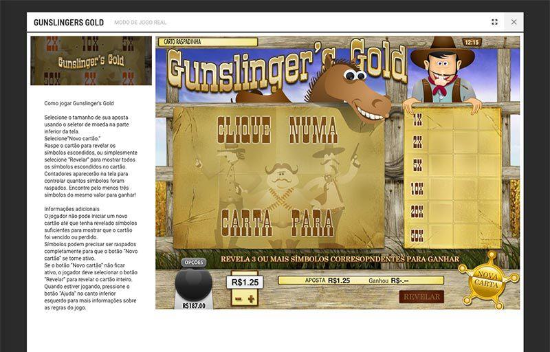 Gunslinger Gold bodog
