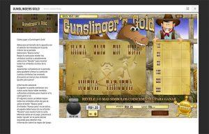 Gunslinger descripcion bodog