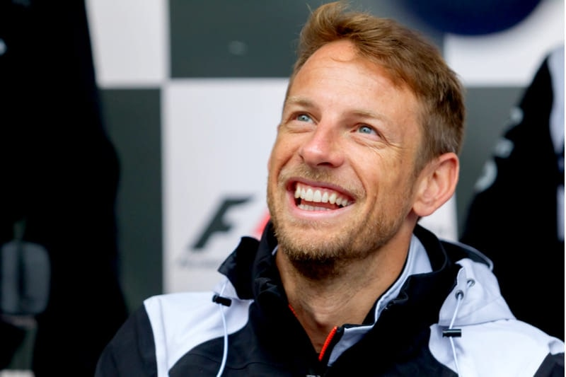 Jenson Button 24 le mans