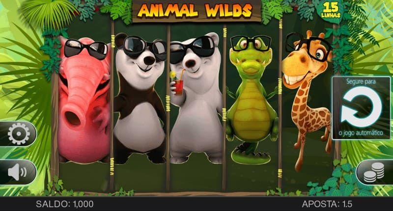 animal wilds personagens bodog