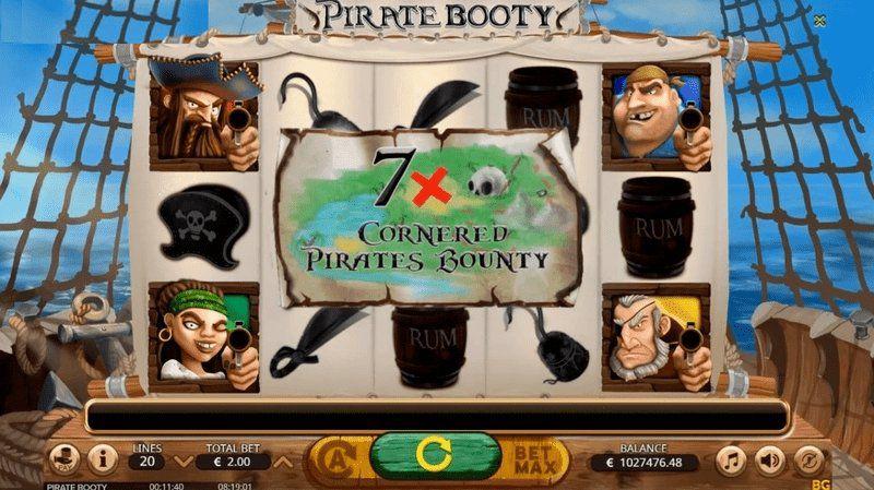pirate booty premios