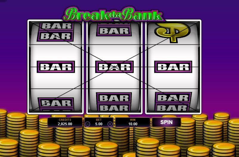 break da bank bar bodog