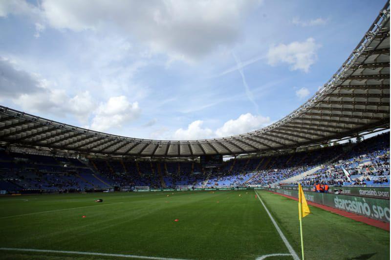 estadio olimpico Roma x Inter