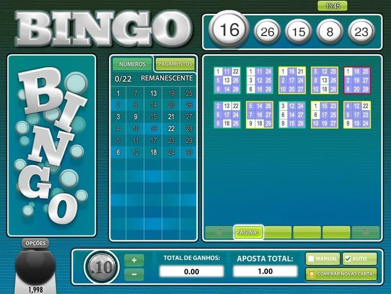 jogar bingo 30