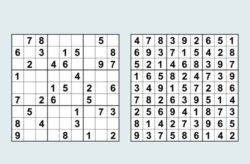 linhas sudoku
