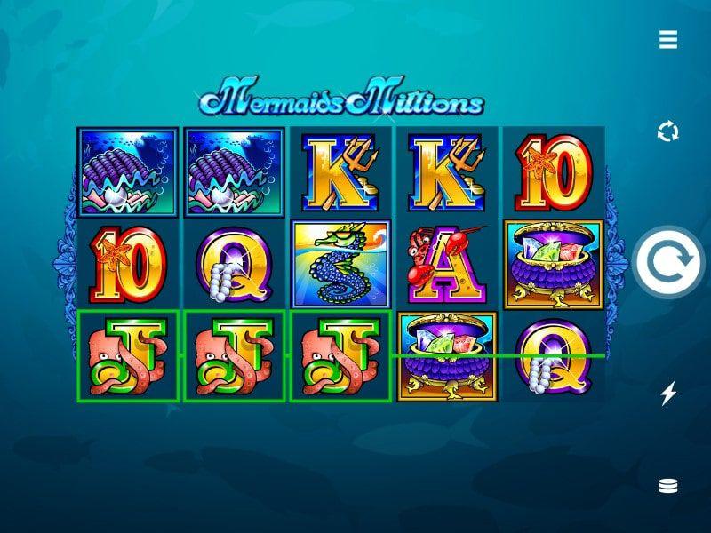 mermaids millions monedas bodog