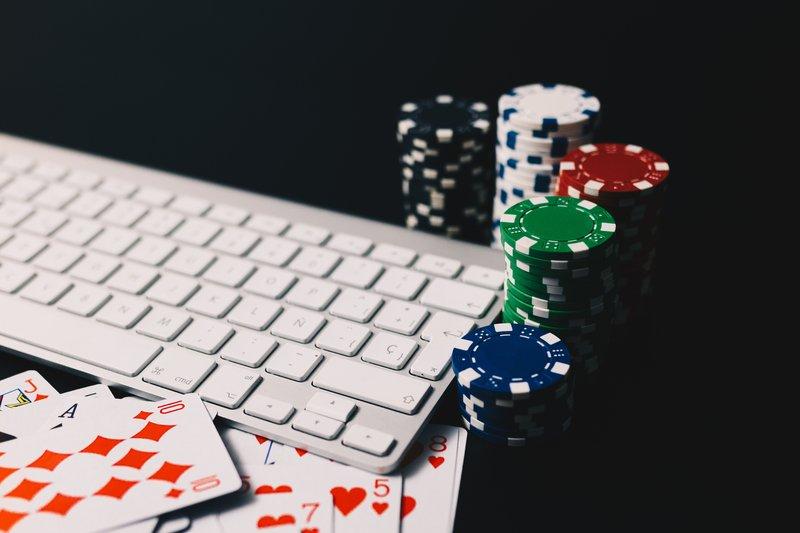 poker fichas teclado