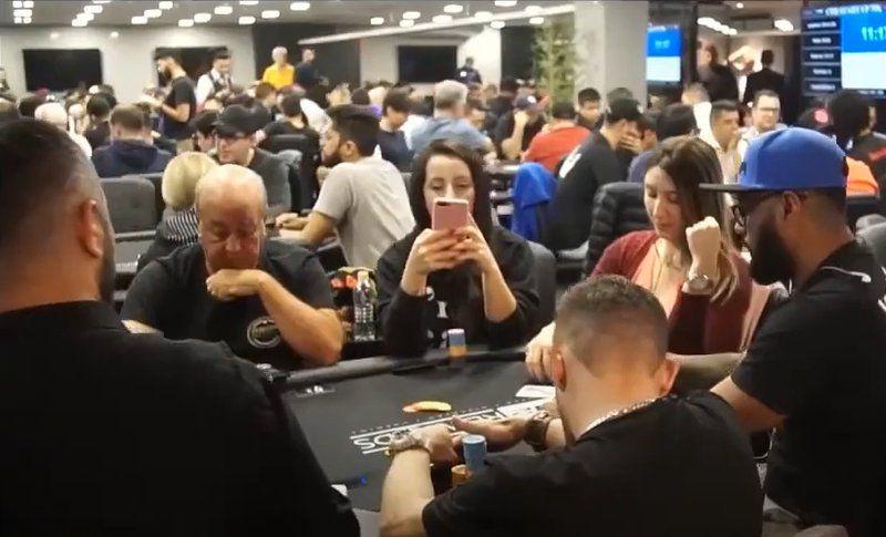 Ambiente de poker en vivo bodog