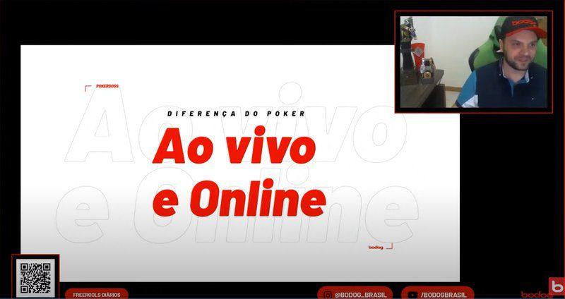 Ao vivo e online bodog