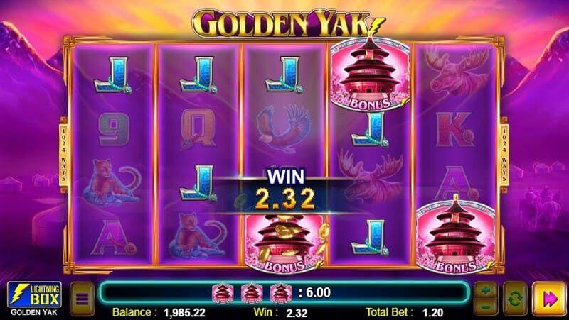 golden yak bonus bodog 1