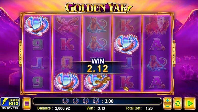 golden yak ganhar bodog 1