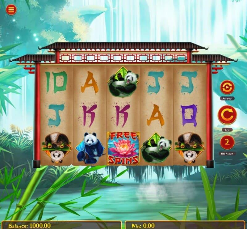 pandas go wild simbolos