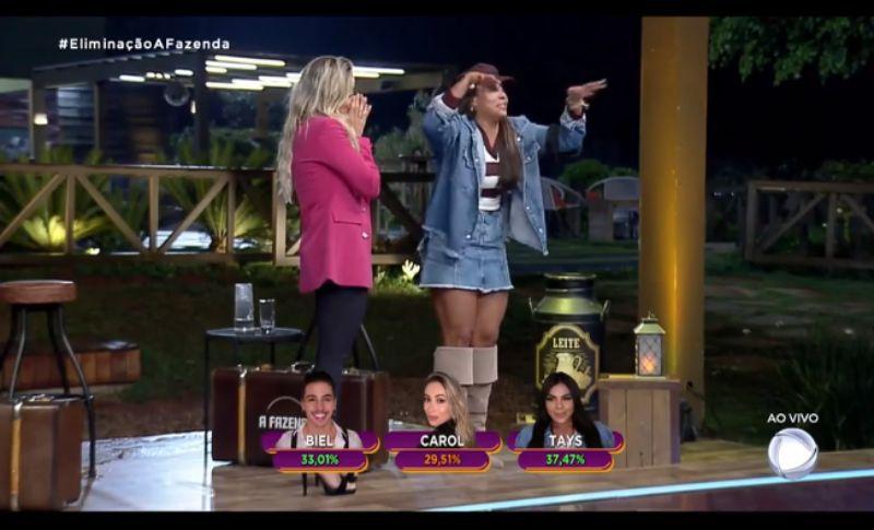 carol narizinho quinta eliminada
