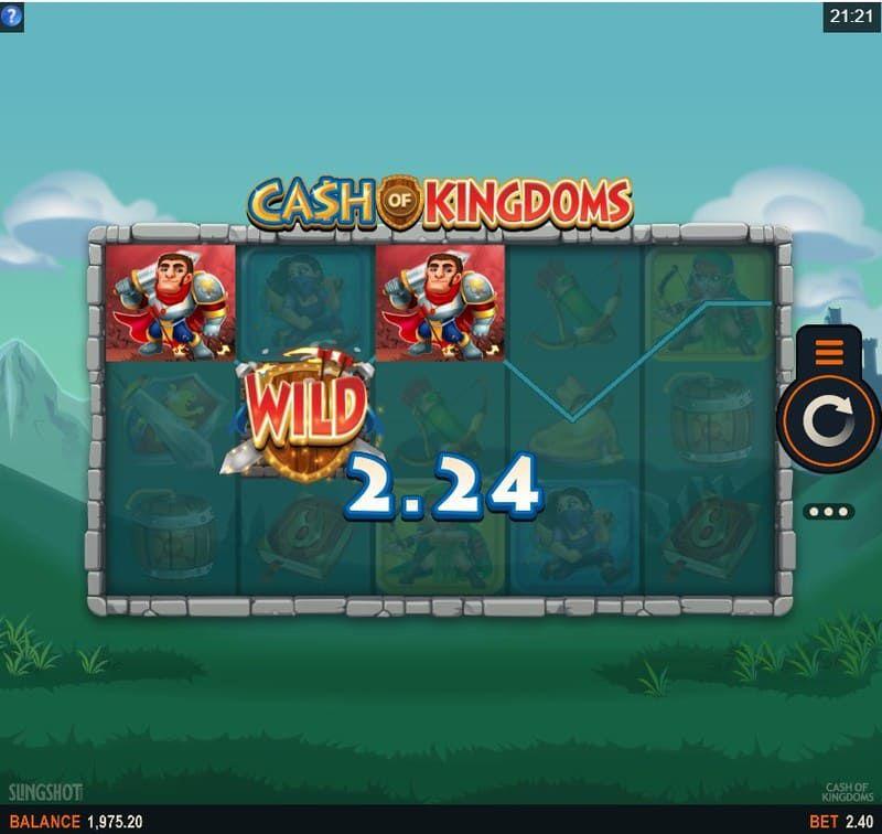cash kingdoms wild bodog