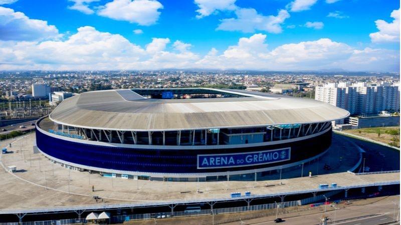 estadio arena do Grêmio x Universidad Católica