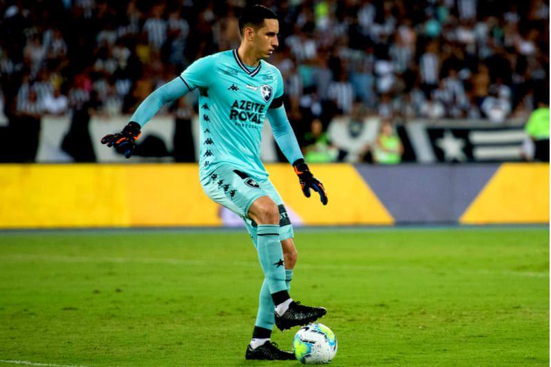 goleiro Botafogo x Vasco