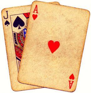 historia blackjack