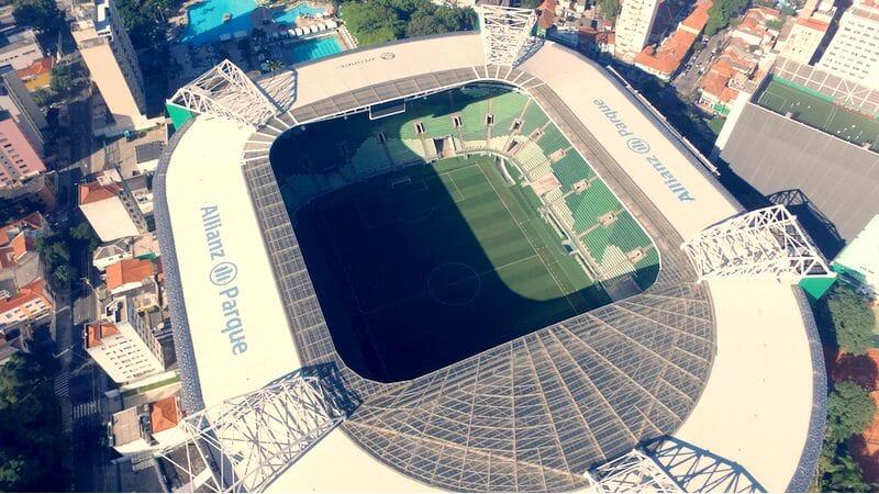 allianz parque Palmeiras x Tigre
