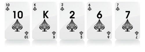 flush manos de poker