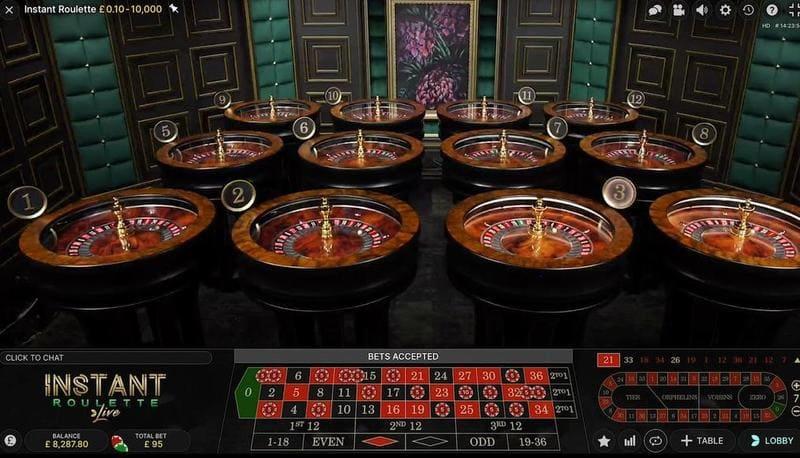 jogar instant roulette