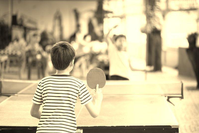 recreio escolar tenis mesa