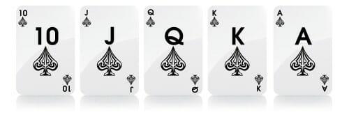 royal flush mãos de poker