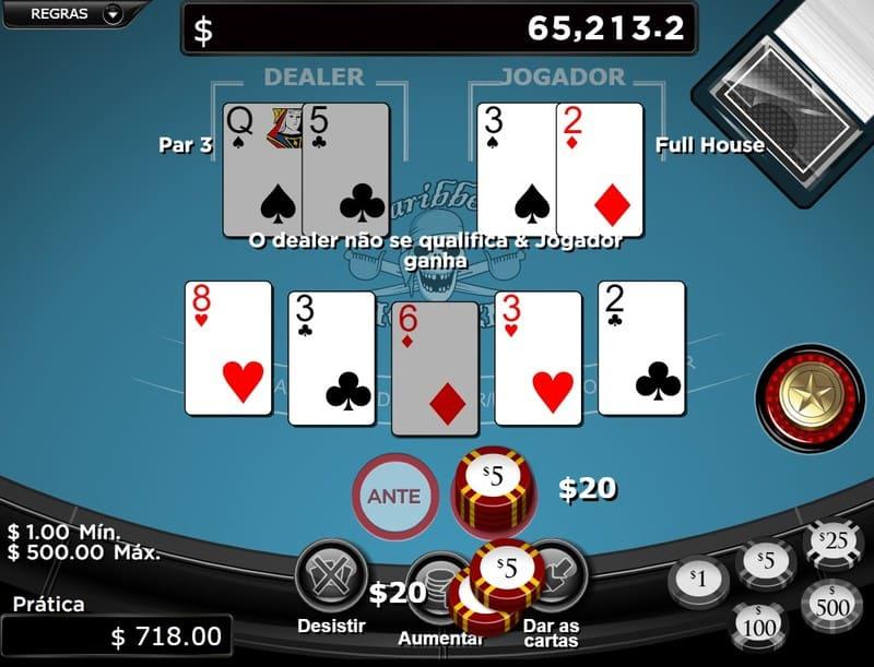 apostar poker online