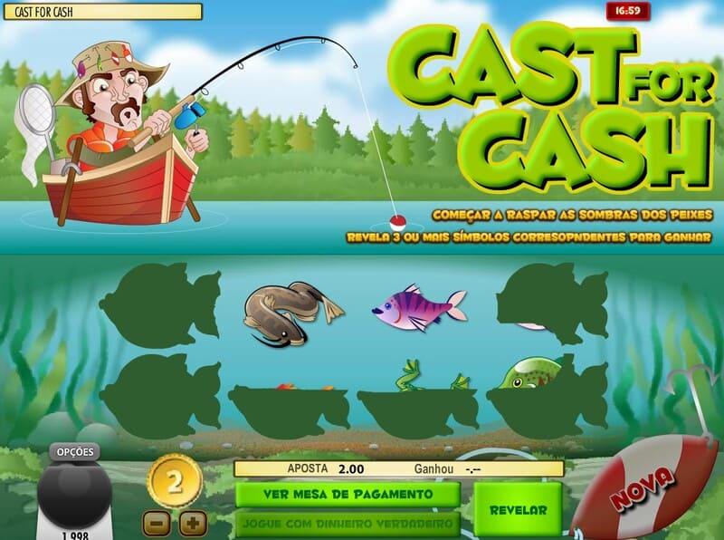 cast for cash raspadinha