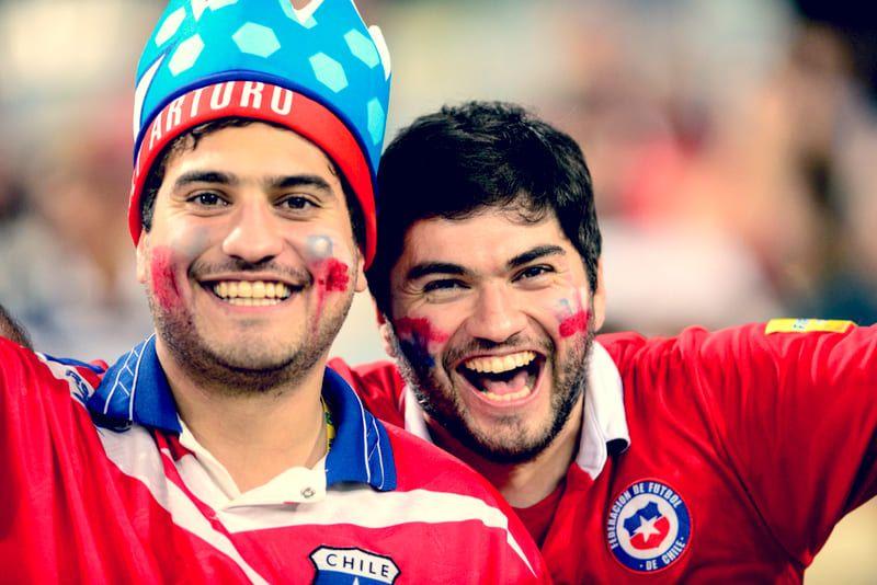 fans chile copa america