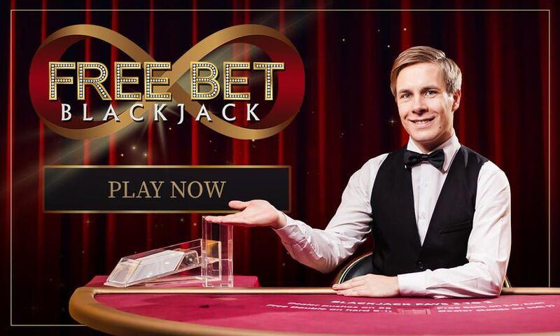 free bet blackjack vivo