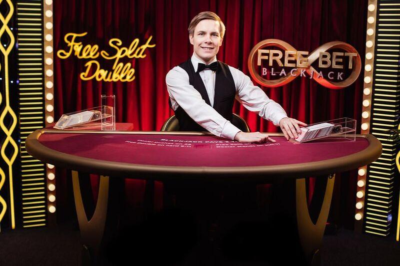 free split double blackjack