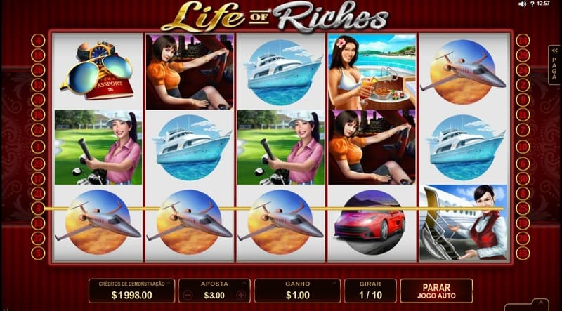 life riches simbolos