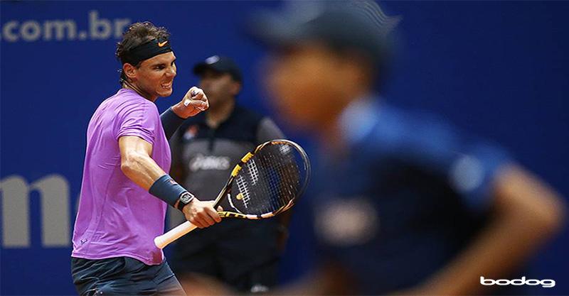 Rafael Nadal no Brasil Open