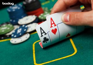 Seja agressivo poker