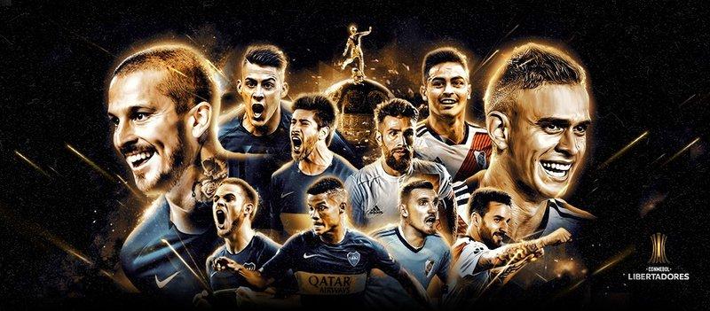 Boca Juniors x River Plate libertadores 2018
